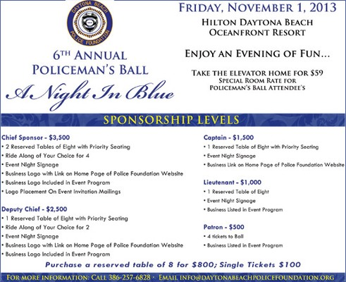 6th Annual Policeman's Ball - A Night In Blue