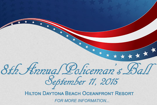 8th Annual Policeman's Ball - Recognizing Our Top Cops and Military Families