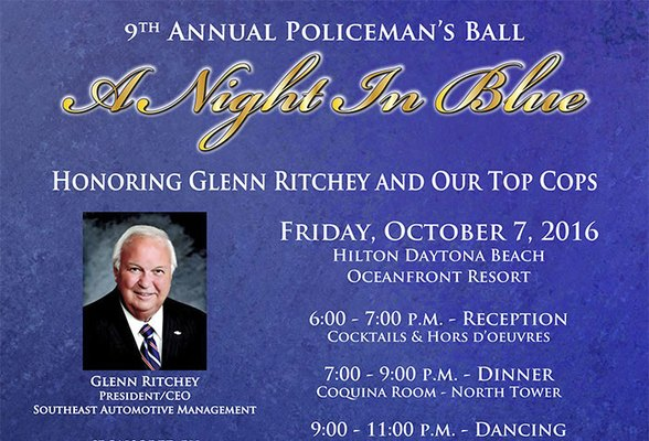 9th Annual Policeman's Ball - Honoring Glenn Ritchey and Our Top Cops