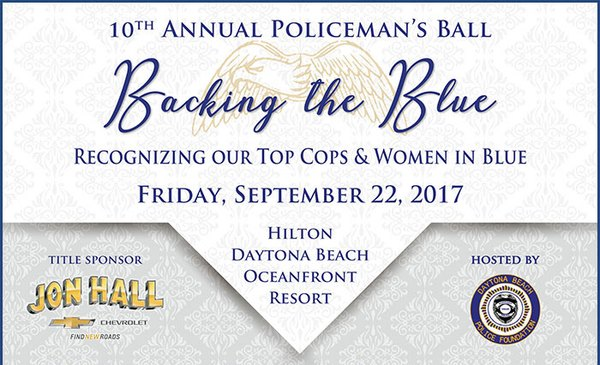 10th Annual Policeman's Ball - Backing the Blue