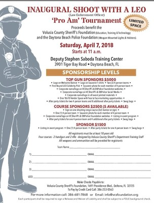 Inaugural Shoot with a LEO (Law Enforcement Officer) 'Pro Am' Tournament