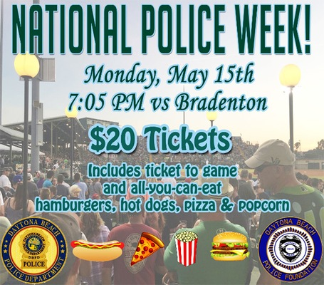 National Police Officers Memorial Day & the Tortugas